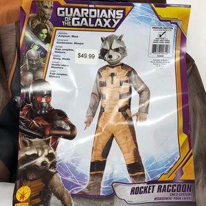 Guardians of Galaxy Rocket Raccoon Costume